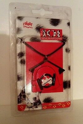 101 Dalmatians Cord Necklace and Pendant - New In Packaging