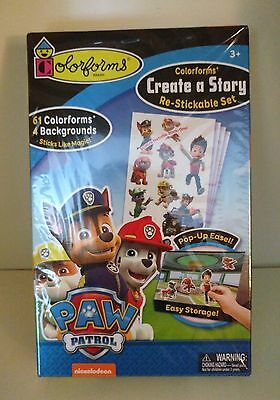 Colorforms - Create a Story - Paw Patrol