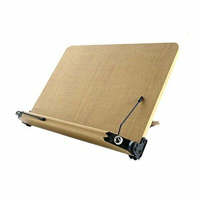 NICE Book Stand Portable Wooden Reading Holder Desk bookstand O-101  (307*210mm)