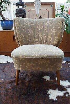 A Vintage East German Bartholomew Cocktail Chair Original Material C1955 A17-14