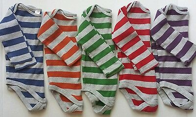 BABY BODEN 12-18 mo.Long sleeved BODYSUITS Lot of 5! GUC