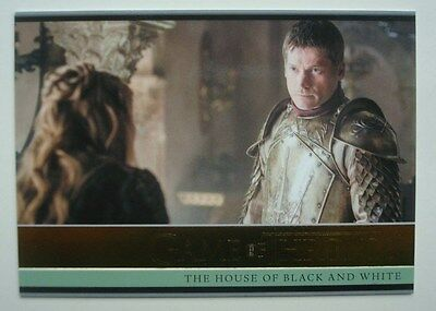 2016 **GAME Of THRONES** Season 5 GOLD Card #4 House Of Black & White *75/150*