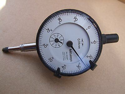 Mitutoyo Standard Dial Indicator 10mm (0.01mm) No 2046F