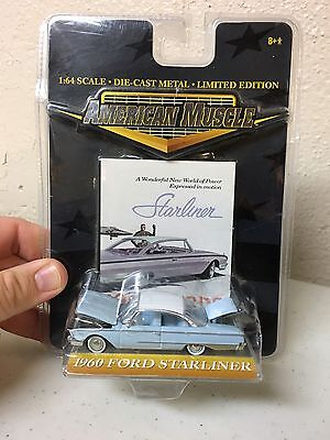 American Muscle Limited Edition 1:64 Scale Die-cast 1960 Ford Starliner
