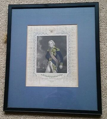 Engraving of Horatio Nelson