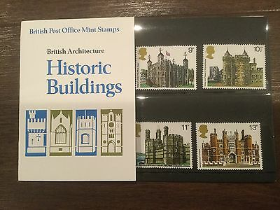 1978 British Post Office Mint Stamps - Historic Buildings - pack no. 100