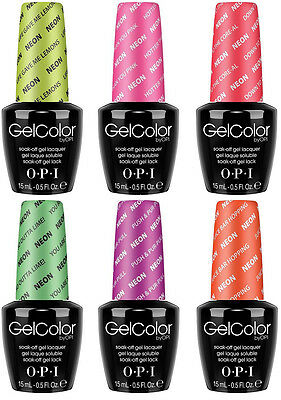 Gel Color NEON Collection Summer  Sale Nail-art Manicure Polishes 15ml
