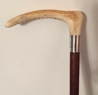 Superb Sterling  Silver Riding Crop/ Whip fox hunting hounds jacket polo Swaine