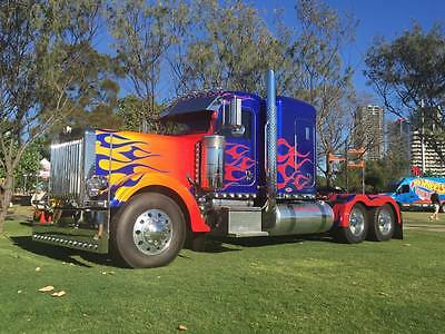 2007 Peterbilt 379 Optimus Prime Replica Truck Peterbilt Truck For Sale 379
