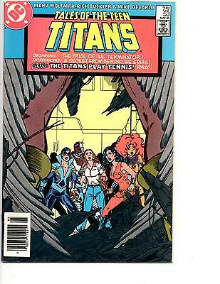 Tales Of The Teen Titans #46,48,53,57,85 Nm Cyborg Trial Of Deathstroke