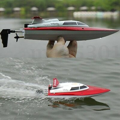 FT007 4CH 2.4G Fast High Speed Racing Remote Control RC Boat Toy Gift For Kids