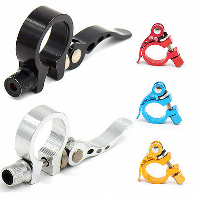 28.6mm Cycling Saddle Seatpost Clamps MTB Bike Bicycle Quick Release Alloy Style