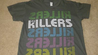 The Killers 2009 World Tour Concert Tshirt Adult Small S