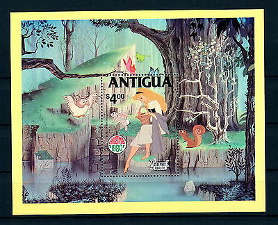 X0 Disney 006 Antigua SC# 601 Christmas MNH S/Sheet