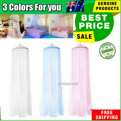Mosquito Net Netting Bed Home Canopy Curtain Dome Queen Size Sleep Protect 2017