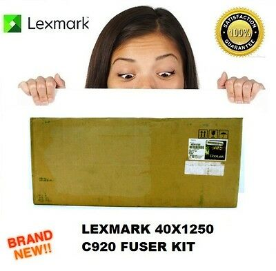 Brand New Lexmark 40X1250 Fuser Maintenance Kit C920 In Opened Box