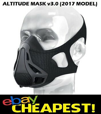 Fitness Workout Mask: Altitude Training | MMA | Boxing | Muay Thai | Elevation