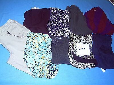 Lot Of Womans Clothes Size 12 And Large Lot Of 9 #s26