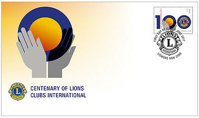 2017 Centenary of Lions Clubs International - First Day Cover (Gummed)