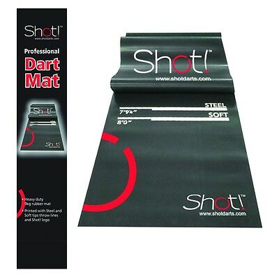 Shot Pro Rubber Dart Mat with FREE SHIPPING!!!