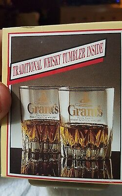 Vintage, NOS, William Grant's whiskey tumbler