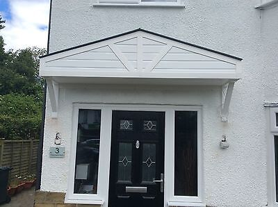 Upvc ,7Ft Door Canopy , New , Lightweight , Ready To Fit ,  Please. Read All .