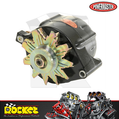 Powermaster 140A 1-Wire Alternator BLACK Fits Ford - PM8-57141