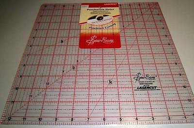 Sew Easy Square Quilt Ruler 12.5  Inch X 12.5 Inch