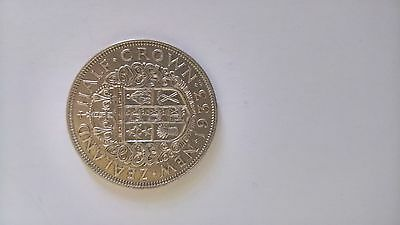 1933 New Zealand Silver Half Crown - King George V