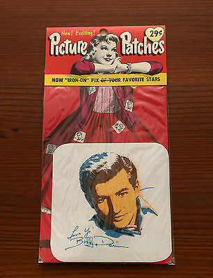 Picture Patch Bobby Darin Vintage Original Patches Iron On 1950s 50s