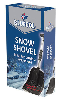 Bluecol Extendable Snow Shovel Spade Car Van BES000 - Emergency UK