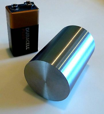 1kg Tungsten Metal 99.99% Pure 35 dia x55 mm Museum Grade Cylinders!