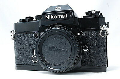 Nikon Nikkormat EL 35mm SLR Film Camera Body Only  SN5527612  **Excellent++**