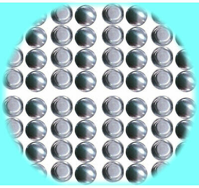 50 Fabric Cover Buttons 50 Buttons 15mm Self Cover NEW STYLE True  Flat Back
