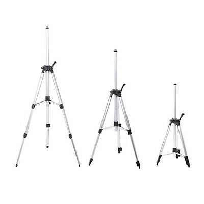 110/150cm Adjustable Tripod Carbon Aluminum With 5/8 Adapter For Laser Level