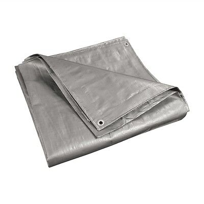 ALEKO Heavy Duty Polyethylene Tarpaulin Multi-Purpose All Weather Tarp 20X20 Ft