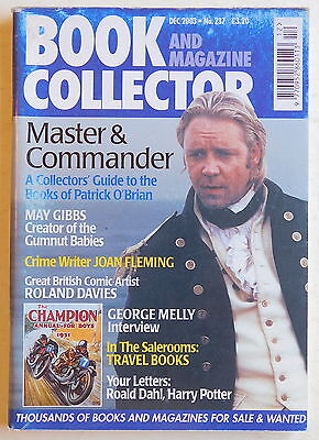 BOOK & MAGAZINE COLLECTOR #237 - 12/2003 - May Gibbs, George Melly