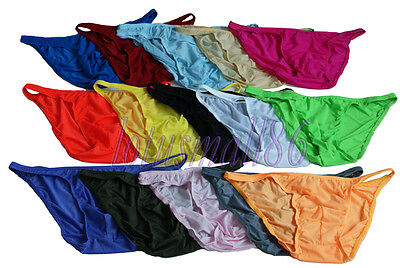 "50Pcs Men's sex Bikinis PANTIES  waist 30""--36"" briefs #1711/lotusmall86"