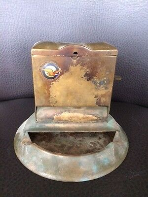 Pratt and Whitney Dependable Aircraft Engine emblem on Brown and Bigalow Ashtray