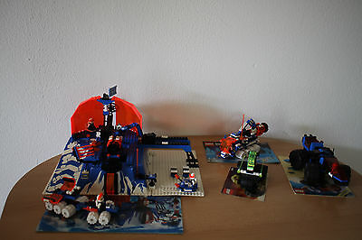 (Tb) Lego Space Ice Planet Shuttle Space 6983 6898 6851 6895 Ba Selection Of