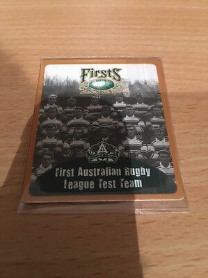 2008 NRL FOOTY TAZO FIRST - First Australian Team