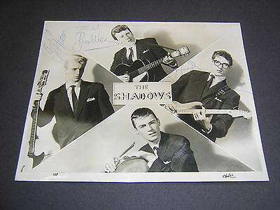 Superb Early (1960) Signed (Autographed) Photograph Of The Shadows