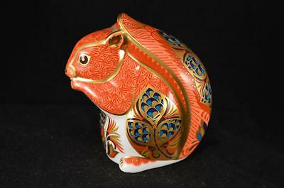 Royal Crown Derby Red Squirrel - Gold Stopper - 1998