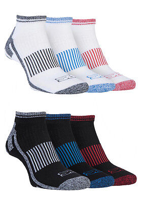 Storm Bloc - 3 Pairs Mens Padded Tennis Sporting Gym Ankle Trainer Socks