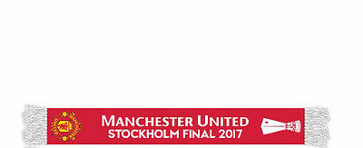 Manchester United  2017 Colour Europa League Final Winners Scarf