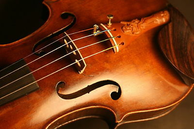 1920s French Violin (Caussin-Laberte) - 4/4 - with new strings and accessories
