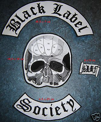 BLACK LABEL SOCIETY - BackPatch set FREE SHIPPING !!!!