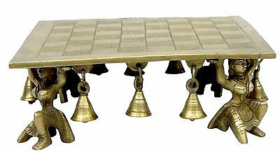 decorative Brass Square Bajath handicrafts product by Bharat Haat™BH03906