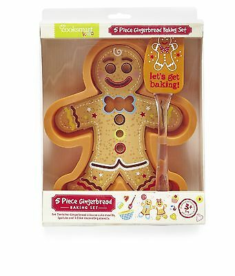 Child's Baking Set - Gingerbread Baking Set - 5 Piece