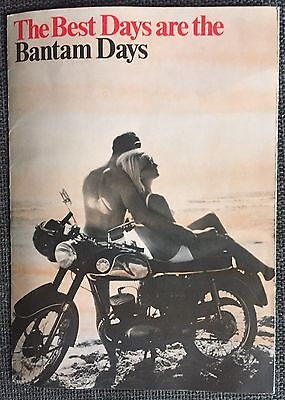 BSA Bantam Brochure 1969